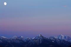 Блески луны Стоковая Фотография