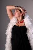 блестящая женщина Стоковая Фотография RF