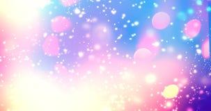 Блестящая предпосылка градиента с влиянием hologram и волшебством l Стоковая Фотография RF