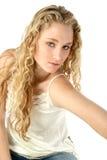 блестящий портрет предназначенный для подростков Стоковая Фотография RF