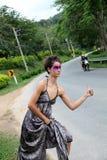 блестящий hitchhiker Стоковое Изображение RF