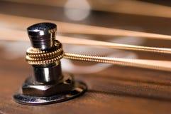 близкая гитара вверх Стоковое Изображение RF