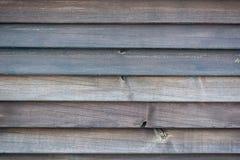 близкая загородка вверх по деревянному Стоковое Фото