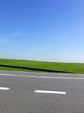 близкая зеленая трасса вверх Стоковая Фотография RF