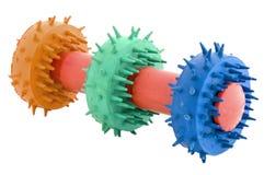 близкая игрушка собаки Стоковое Изображение