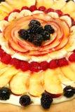 близкая пицца плодоовощ вверх Стоковые Фотографии RF