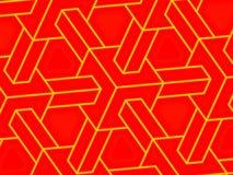 близкая решетка кубика вверх Стоковые Изображения RF