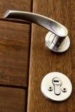 близкая ручка двери вверх Стоковые Фотографии RF
