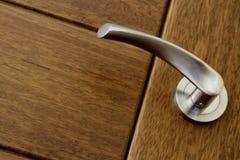 близкая ручка двери вверх Стоковая Фотография RF