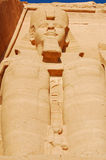 близкая статуя ramses Египета ii вверх Стоковое Изображение