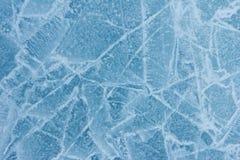 близкая структура льда вверх Стоковое Изображение RF