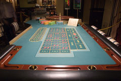 близкая таблица рулетки вверх Стоковые Фотографии RF