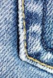близкая джинсовая ткань вверх Стоковые Изображения