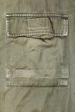 близкие воиска зеленой куртки вверх стоковое изображение rf