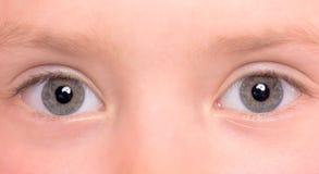 близкие глаза вверх Стоковые Изображения RF