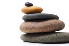 близкие камушки складывают вверх Стоковые Изображения RF