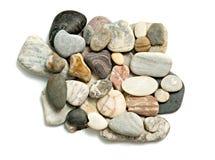 близкие камушки складывают вверх Стоковые Фотографии RF