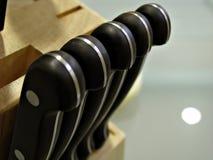 близкие ножи снятые вверх Стоковое Фото