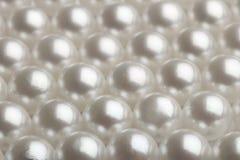 близкие перлы вверх Стоковая Фотография