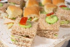 близкие сандвичи вверх стоковая фотография rf