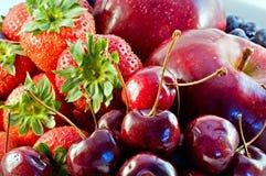близкие свежие фрукты вверх Стоковое Изображение