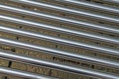 близкие стальные пробки вверх Стоковое фото RF