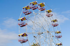 близкие цветастые ferris поднимают колесо Стоковое Изображение