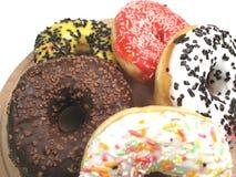 близкие donuts вверх Стоковое Изображение RF