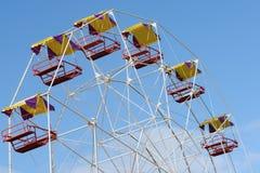 близкие ferris поднимают колесо Стоковые Фото