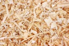 близкие shavings осматривают древесину Стоковая Фотография RF