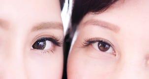 близкий глаз вверх по женщине Стоковые Фотографии RF