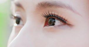 близкий глаз вверх по женщине Стоковые Изображения RF
