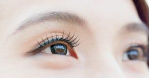 близкий глаз вверх по женщине Стоковое Изображение RF