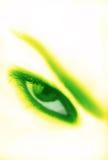 близкий глаз вверх Стоковые Изображения RF