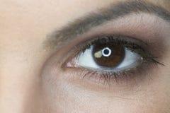 близкий глаз s вверх по женщине Стоковые Изображения RF