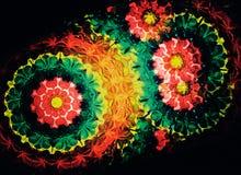 близкий горизонтальный kaleidoscope вверх Стоковое Изображение