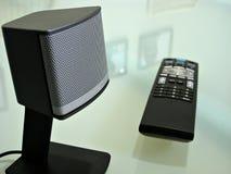 близкий дистанционный диктор tv вверх Стоковые Изображения RF