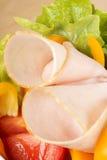 близкий здоровый смешанный салат вверх Стоковое Изображение