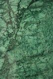 близкий зеленый мрамор вверх Стоковые Изображения RF