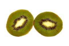 близкий киви плодоовощ отрезает вверх Стоковая Фотография