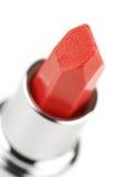 близкий красный цвет губной помады вверх Стоковые Фотографии RF