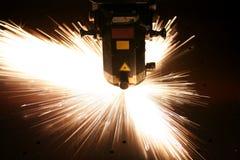 близкий лазер вверх стоковые изображения rf