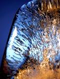 близкий льдед вверх Стоковое Изображение RF