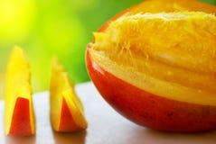близкий манго плодоовощ вверх Стоковое Изображение RF