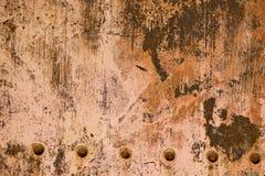 близкий металл заржавел бак вверх Стоковое Изображение