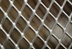 близкий металл решетки вверх Стоковое фото RF
