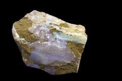 близкий минеральный опал вверх Стоковое Изображение RF