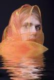 близкий портрет человека вверх по детенышам Стоковые Фотографии RF