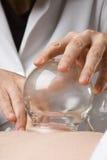 близкий придавать форму чашки вверх по вакууму Стоковое Фото