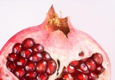 близкий раздел pomegranate вверх Стоковые Фотографии RF
